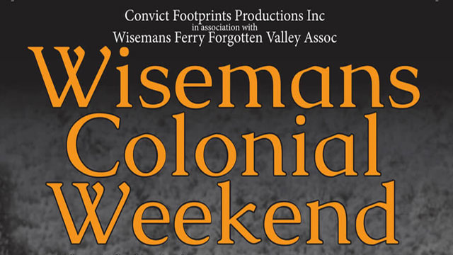 Wisemans Colonial Weekend