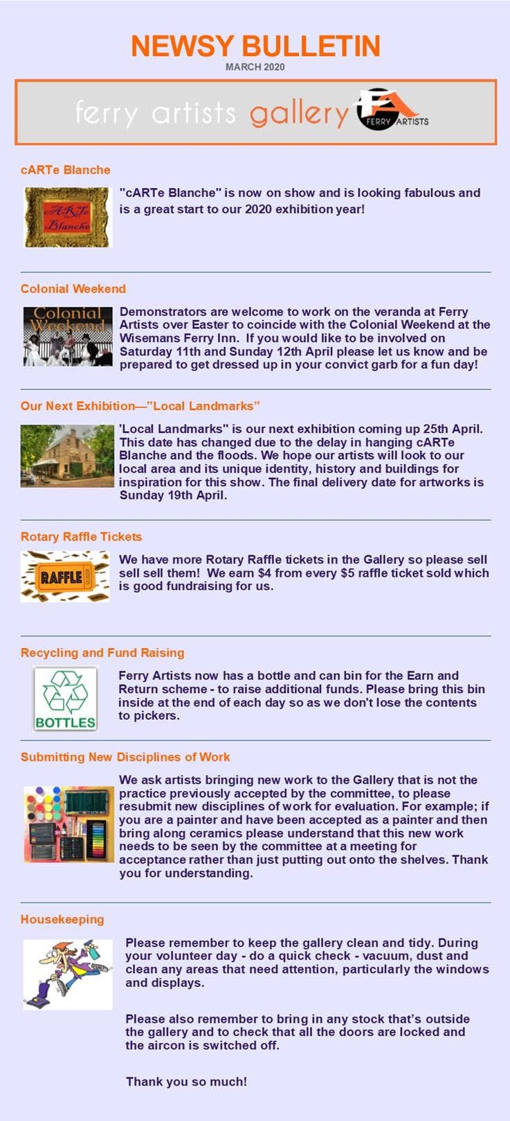News Bulletin March 2020