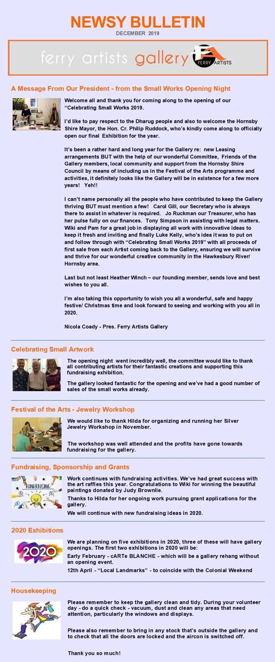 News Bulletin December 2019